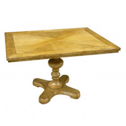 "Picture of 36″X48"" PEDESTAL TABLE"