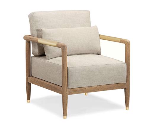 Picture of CARSON OCCASIONAL CHAIR IN BEACH