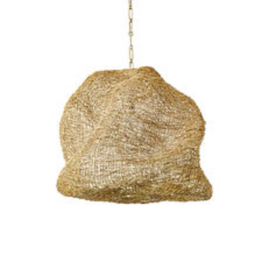 Picture of ANDORRA WICKER PENDANT, LARGE NATURAL
