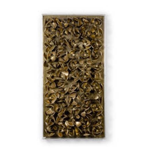 Picture of ADRIFT COCO WALL DECOR SMALL ANTIQUE GOLD