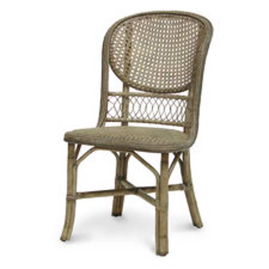 Picture of ANTIQUE CANE SIDE CHAIR GREY