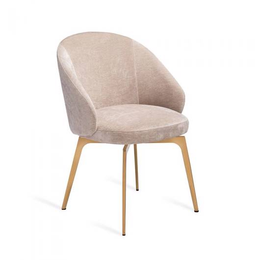 Picture of AMARA DINING CHAIR - BEIGE LATTE