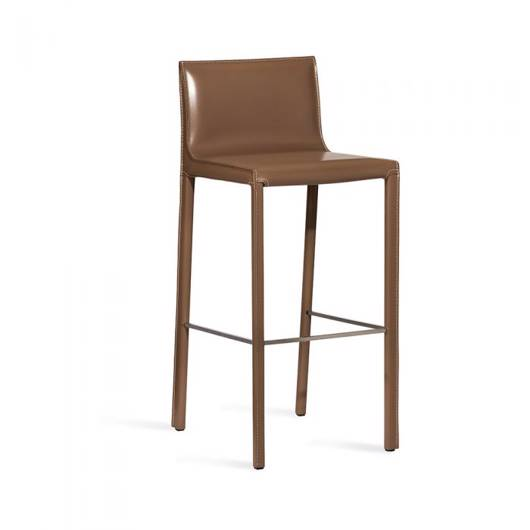 Picture of BIANCA BAR STOOL - CAPPUCCINO