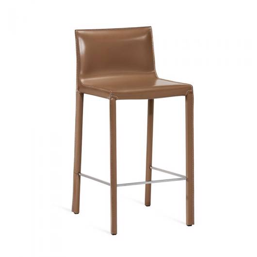 Picture of BIANCA COUNTER STOOL - CAPPUCCINO