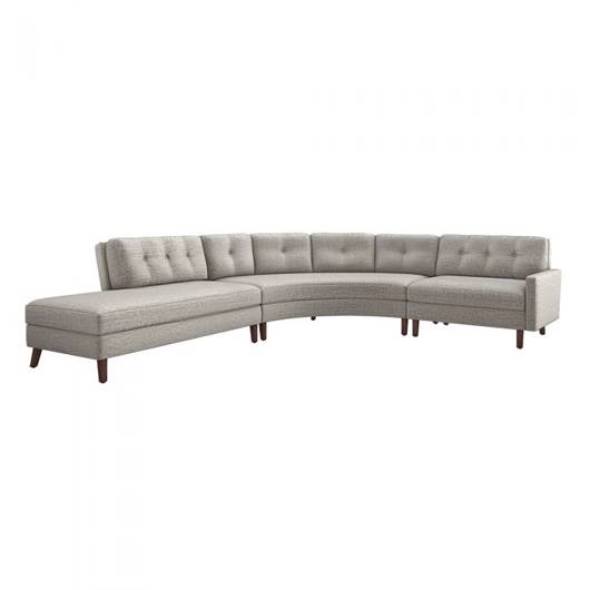 Picture of AVENTURA LEFT CHAISE 3 PIECE SECTIONAL - FEATHER